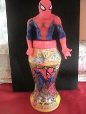 BellyWashers Spiderman Marvel Comics Collectible Bottle 2001 Removable Top