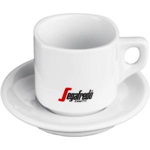 Segafredo Caffe Latte Milchkaffeetasse mit Unterteller - Caffe Milano