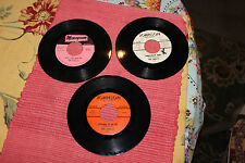 Lot Of 3 The Shells 45 RPM Records-Monogram Johnson Labels-Not For Sale-LQQK