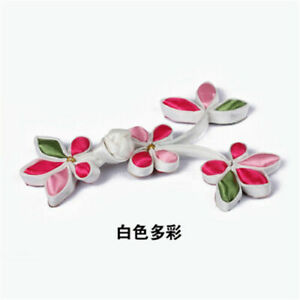1Pc Chinese Knot Frog Button Plum Blossom Design Closure Fasteners for Cheongsam