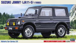 Hasegawa 21122 HC-22 1/24 Scale Model Historic Car Kit Suzuki Jimny JA11-5 1995