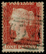 SG40, 1d rose-red PLATE 63, LC14, FINE USED. Cat £50. RD