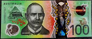 ⭐️ RARE 2019 *GAETJENS* LOWE SIGNATURE Australia Next Generation $100 Dollar AU