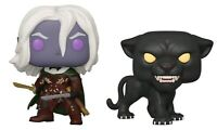 Pop! Vinyl--Dungeons & Dragons - Drizzt Do'Urden & Guenhwyvar US Exclusive Po...