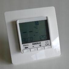 Raumtemperaturregler Thermostat digital mit Uhr Eberle FIT 3 R Unterputz Montage