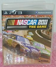 Sony PS3 Nascar 2011 The Video Game Realistic Race For Sprint Cup Online Action