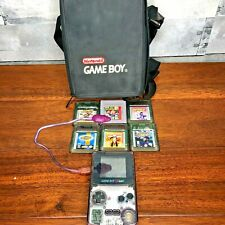 Atomic Purple Gameboy Color System Lot of 6 Games, Case, Nintendo CGB-001