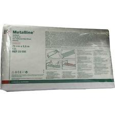METALLINE Betttuch 73 cmx2,5 m steril 1 St