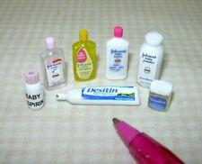 Miniature Infant/Baby Care Assortment (Set of 7): DOLLHOUSE Miniatures 1:12