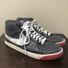 Nike Blazer High Mens Athletic Sneakers 315877-001 Size 11.5 Anthracite Silver