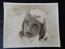 "Lizabeth Scott Autographed 8"" X 10"" Photograph from Estate"