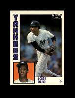 1984 Topps Traded Baseball #100 Jose Rijo (Yankees) NM-MT