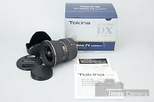*Mint* Tokina AT-X PRO 12-24mm f/4 4 IF DX Canon AF EF Mount Wide Angle Lens
