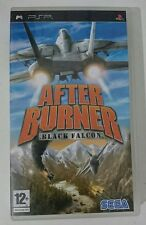 AFTER BURNER BLACK FALCON SONY PSP VERSIONE ITALIANA COMPLETO COME NUOVO SEGA