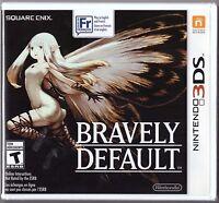 Bravely Default [Nintendo 3DS, NTSC, Classic Turn-based JRPG Video Game RPG] NEW