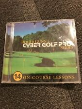 Roger Gunn's Cyber Golf Pro Series 14 On Course Lessons Windows 95/98/Nt New