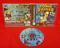 Tomb Raider 3 III  Playstation 1 2 PS1 PS2 Game Black Label Complete Near Mint