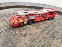 Vintage Matchbox 1976 Super King K 10 Car Transporter
