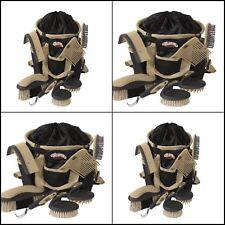Horses Grooming Pet Supplies Hoof Care Brush Bathing Equestrian 7 Pc Kit Bag Set