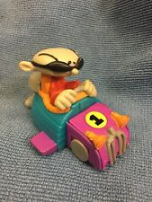 D17- RARE 2006 Number 1 Nigel Racing Figure Codename Kids Next Door Hardee's toy