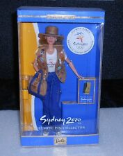 "BARBIE DOLL ""SYDNEY 2000 OLYMPIC PIN COLLECTOR"" 25644, ORIGINAL 1999 IN BOX!"