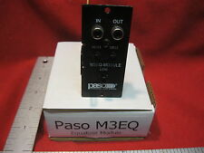 PASO SOUND M3EQ 3-BAND AUDIO EQUALIZER MODULE FOR DMS SERIES AMPLIFIERS Toa