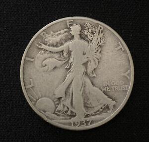 1937 D walking liberty half dollar