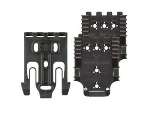Safariland QUICK-KIT4-2 Black Quick Locking System For Holster/Accessory QLS22L