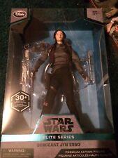 Disney Store Star Wars Sergeant Jyn Erso Elite Series Premium Action Figure