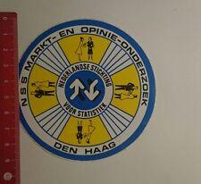 Decal/Sticker: NSS market en opinie Onderzoek the Hague (160117142)