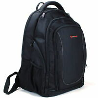 "Alpine Swiss 15.6"" Laptop Backpack Book Bag Notebook Case Computer Back Pack NEW"