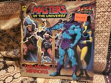 VTG HE MAN MOTU Golden Book SUPER ADVENTURE The Magic Mirrors 1985 Mattel ~NICE!