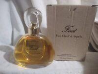 FIRST 100 ml Box Eau de Toilette Spray 3.3 oz FULL EDT Van Cleef & Arpels Tester