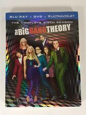 The Big Bang Theory Complete Sixth Season Blu-ray & DVD Discs 2013 5-Disc Set