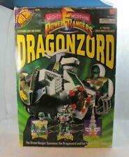 Vintage 1993 Mighty Morphin Power Rangers DRAGONZORD Action Figure Green Lazer