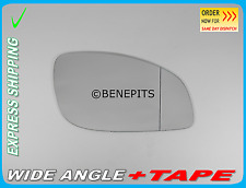 OPEL VECTRA C 2002-2009 Wing Mirror Glass Aspheric +Strong TAPE Right Side /F021