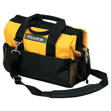 Fluke C550 Premium Tool Bag, 25 Pockets, Heavy Duty Rugged Ballistic Cloth