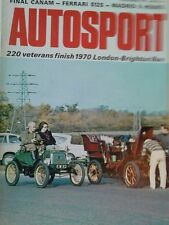 AUTOSPORT 5th NOVEMBRE 1970 * RIVERSIDE può AM *