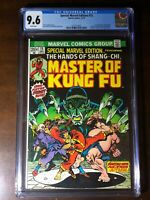 Special Marvel Edition #15 (1973) - 1st Shang-Chi!!! - CGC 9.6!! - White Pages!!