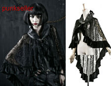 Gothic Lolita Victorian skirt Cape Steampunk Rock Dark Punk Sexy Women Clothing