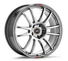 17x8 Enkei GTC01 5X112 +50 Hyper Black Rims Fits VW cc eos golf rabbit