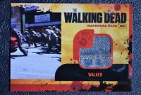 Walking Dead Season 1 M14 Seam Variant Walker Costume Wardrobe Trading Card