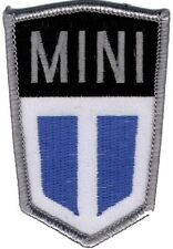 Mini bonnet hood shield embroidered patch