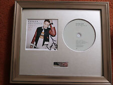 CONOR MAYNARD - CAN'T SAY NO - PERSONALLY SIGNED/AUTOGRAPHED FRAMED PRESENTATION