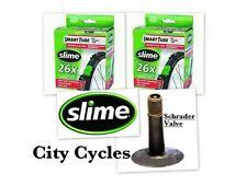 """SLIME  26""""  ATB INNER TUBES X 2  (  Schrader Valve )"""