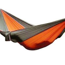 Portable Double Outdoor Hammock Travel Camping Swing Bed Parachute Cloth