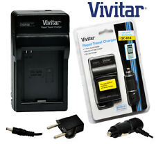 Vivitar Travel Quick Charger ac/dc for GoPro AHDBT-001 Battery 110 220v