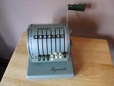 Vintage PAYMASTER X-900 Check Writer~1962 Model~Green w/KEYS Included~WORKS!