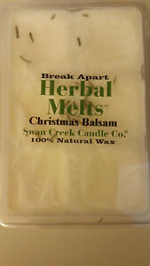 NEW Variety of Swan Creek Drizzle Melts Herbal Melts Christmas Gingerbread Creme