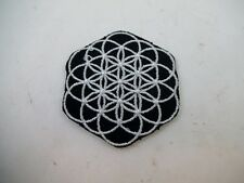 Brand New Flower of Life Patch Numerology Wiccan Pagan Geometric Temple Osiris